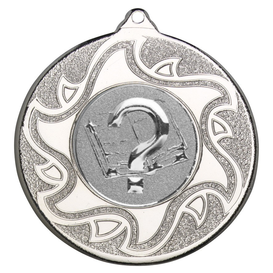 50mm Quiz Silver Medal