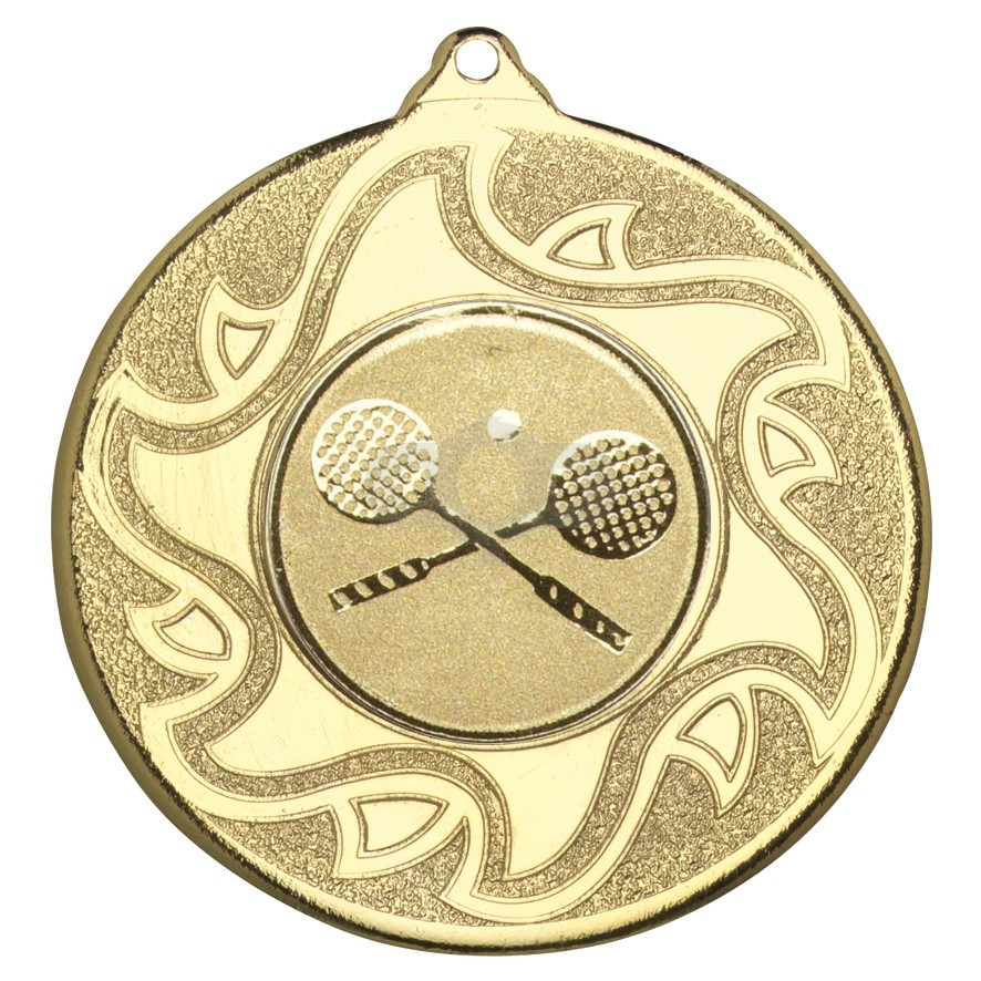 50mm Squash Medal