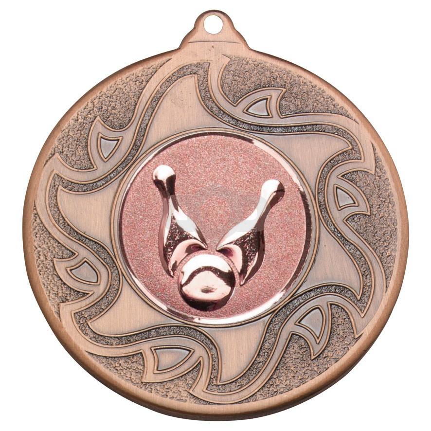 50mm Ten Pin Bowling Bronze Medal