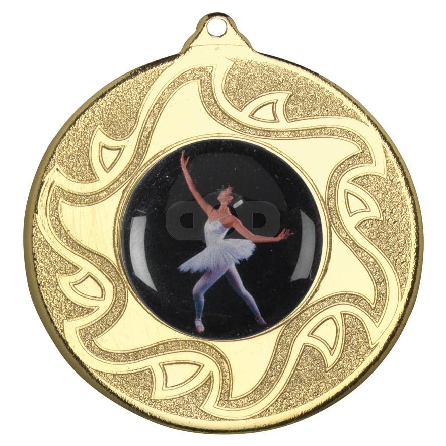 50mm Ballet Dancing Medal