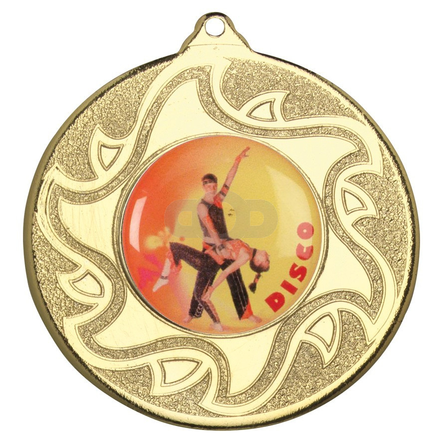 50mm Disco Dancing Medal