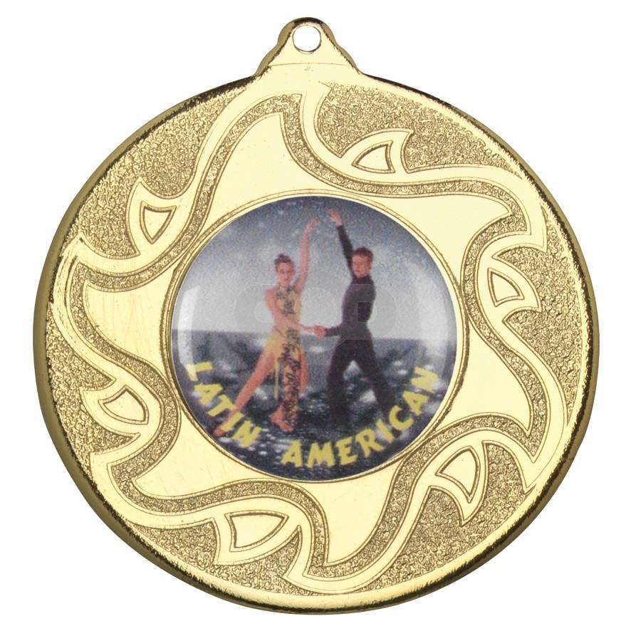 50mm Latino Dancing Medal
