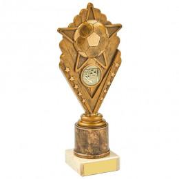 Antique Gold Star Football Holder Award