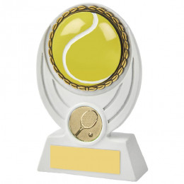 White Tennis Ball Resin Award