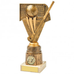 Antique Gold Hockey Holder Award