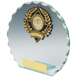 Round Jade Glass Award