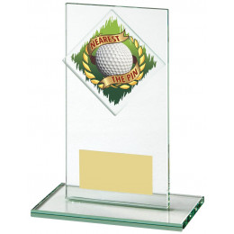 Jade Glass Nearest the Pin Golf Award