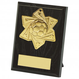 10cm Football Medal Plaque