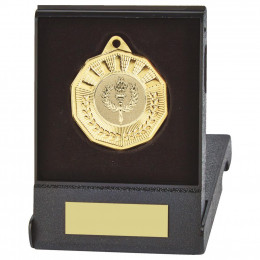 50mm Decagon Medal in Case