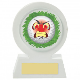 Resin Golf Collectable - Angry