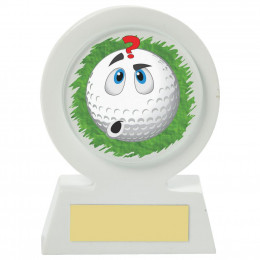 Resin Golf Collectable - Confused