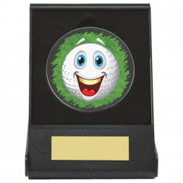 Black Case Golf Collectable - Happy