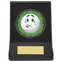 Black Case Golf Collectable - Sad