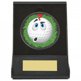 Black Case Golf Collectable - Confused