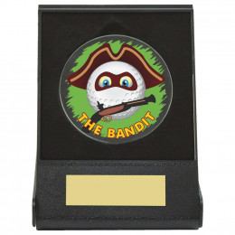 Black Case Golf Collectable - Bandit