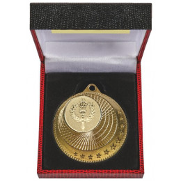 50mm Multi Star Medal in Black Case