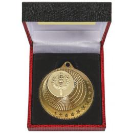 50mm Multi Star Medal in Black Case