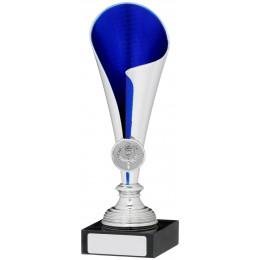 Silver Blue Trophy