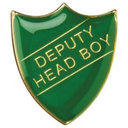 School Shield Badge Deputy Head Boy Green