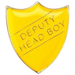 School Shield Badge Deputy Head Boy Yellow