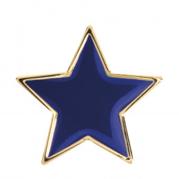 Star Enamel Blue Badge