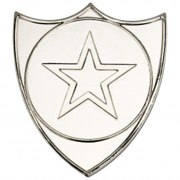 Shield Badge  - Silver