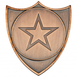 Shield Badge  - Bronze