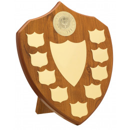 Maple 9 Year Budget Presentation Shield
