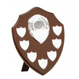 Mahogany Finish 7 Year Presentation Shield