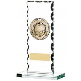 Slimming Award On Glass Plaque