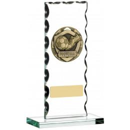 Football Glass Plaque