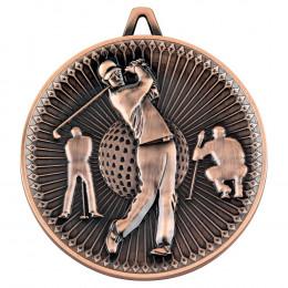 Golf Deluxe Medal - Bronze