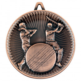 Cricket Deluxe Medal - Bronze