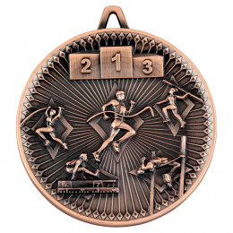 Athletics Deluxe Medal - Bronze