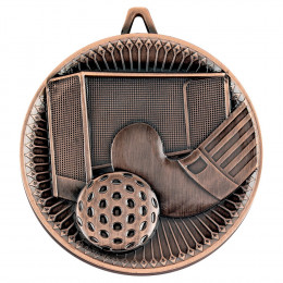 Hockey Deluxe Medal - Bronze