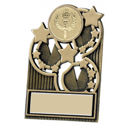 Antique Gold Star Plaque