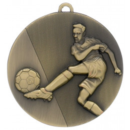 Bronze Football Medal