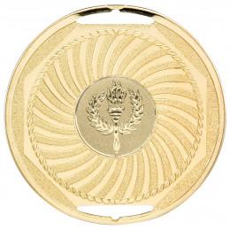 Gold Swirl Medal