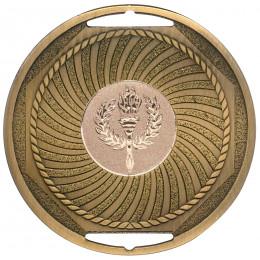 Bronze Swirl Medal