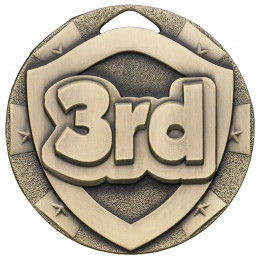 3rd Mini Shield Medal