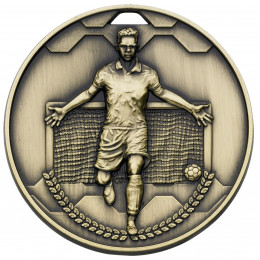 Bronze Football Scorer Male Medal