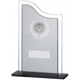 Black Smoked Glass Award