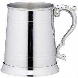 1 Pint Classic Lined Stainless Steel Tankard