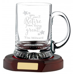 1 Pint Crystal Tankard