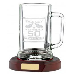 1 Pint Glass Tankard