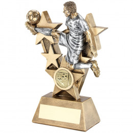 Male 'Volley Control' Footballer Trophy