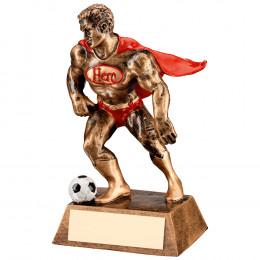 Resin Football 'Hero' Trophy