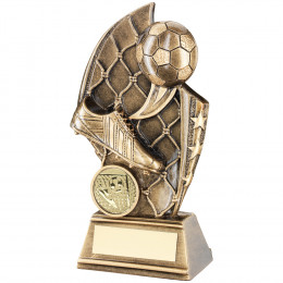 Football Curved Plaque Trophy