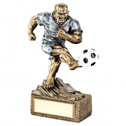 Bronze & Pewter Football 'Beasts' Figure Trophy