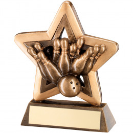 Ten Pin Mini Star Trophy